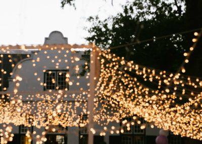 Hawksmoor Wedding Lights